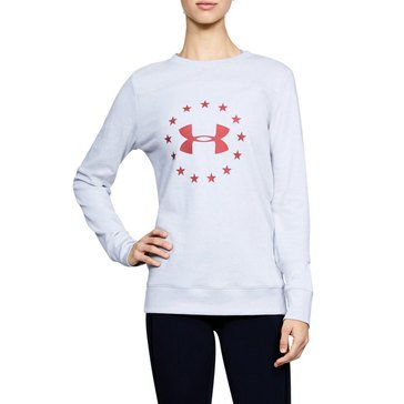 Under Armour Women's Freedom Throwback Crew