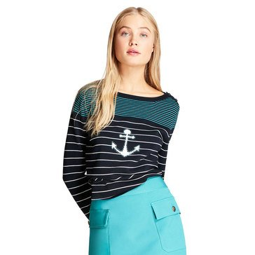 Brooks Brothers Women's Anchor Stripe Sweater
