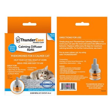 ThunderEase Calming Refill for Cat Diffuser