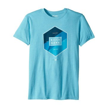 Billabong Big Boys' Access Tee, Aqua Heather