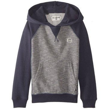 Billabong Big Boys' Balance Pullover Hoody, Navy