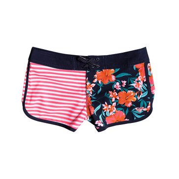 Roxy Big Girls' Waves Colorblock Boardshort