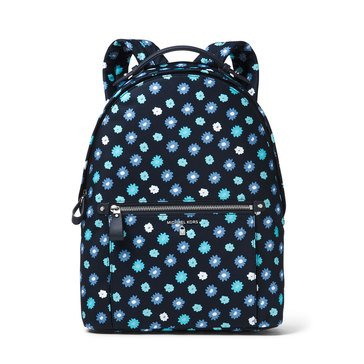 Michael Kors Nylon Kelsey Large Backpack Carntn Printed Admiral/ Blue