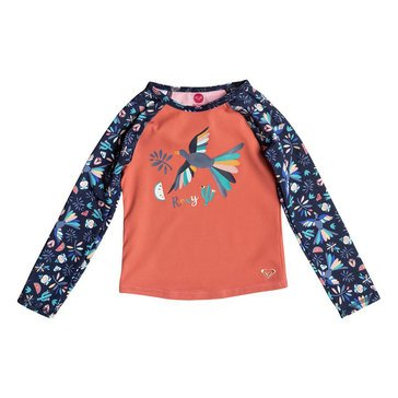 Roxy Little Girls' Birdy Rashguard