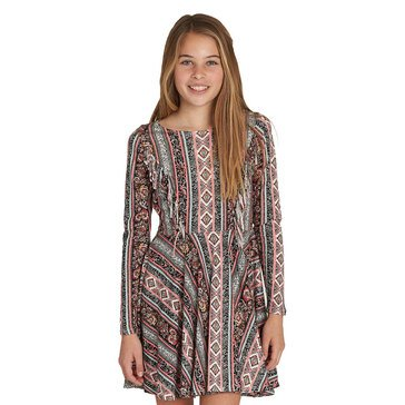 Billabong Big Girls' Stand Out Print Knit Dress