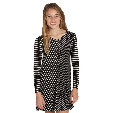 Billabong Big Girls' Just Because Stripe Knit Dress