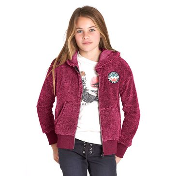 Billabong Big Girls' New Love Polar Fleece Zip Hoodie