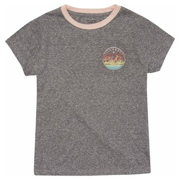 Billabong Big Girls' Bear Stamp Tee