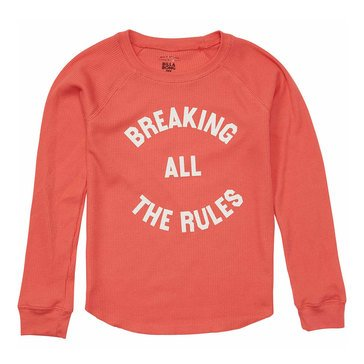 Billabong Big Girls' Rule Breaker Thermal Tee