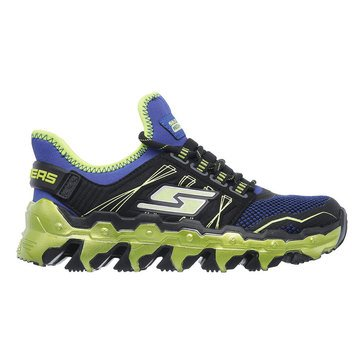Skechers Kids Mega-Flex Lite - Boy's Sneaker- Black