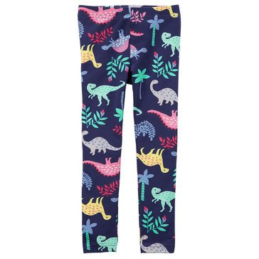 Carter's Baby Girls' Multi Dino Leggings