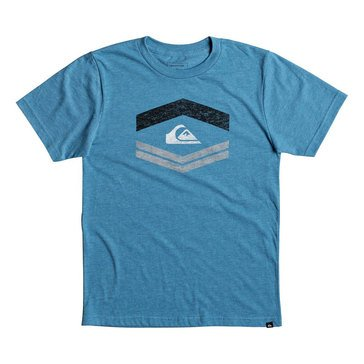Quiksilver Little Boys' Friendly Fire Short Sleeve Tee, Blue