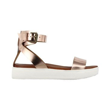 Mia Ellen Ankle Strp Pool Bottom Rose Gold
