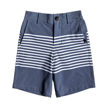 Quiksilver Little Boys' Echo Stripe Amphibian Short, Dark Blue