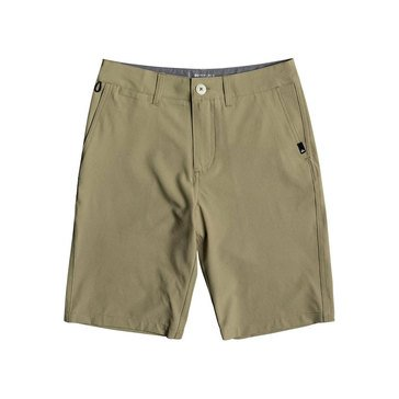 Quiksilver Big Boys'  Union Amphibian Elmwood Short, Dark Beige
