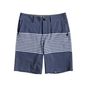 Quiksilver Big Boys' Echo Stripe Amphibian Estate Short, Blue