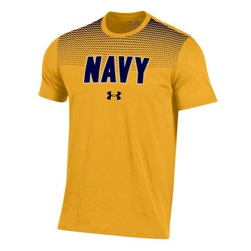Under Armour Men's Charged Cotton Navy Taps Tee