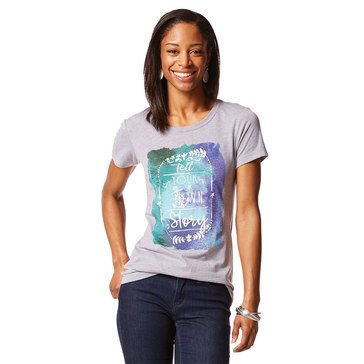 Yarn & Sea Women's Tell Your Own Story Ultra Soft Cotton Junior Fit Tee