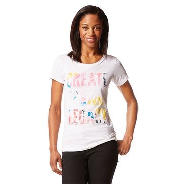 Yarn & Sea Women's Create Your Own Legacy Ultra Soft Cotton Junior Fit Tee
