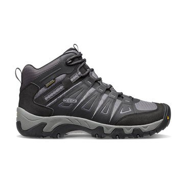 Keen Oakridge Mid WP Wide Men's  Hiking Boot - Magnet/Gargoyle