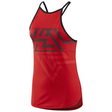 Reebok Women's ActiveChill Mesh Tank in Red