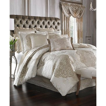 J Queen La Scala Gold Comforter Set - Queen