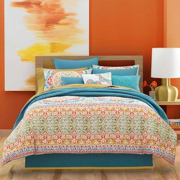 J by J Queen Farah Jade Comforter Set - King