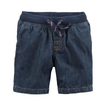 Carter's Toddler Boys' Denim Ribbed Waistband Short