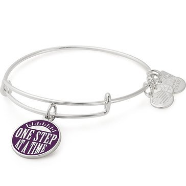 Alex and Ani Charity By Design One Step Expandable Bangle, Silver Finish