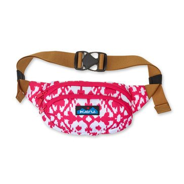 Kavu Spectator Belt Bag Pink Blots