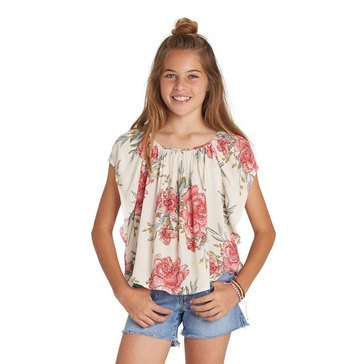 Billabong Big Girls' Flower Swing Print Woven Top