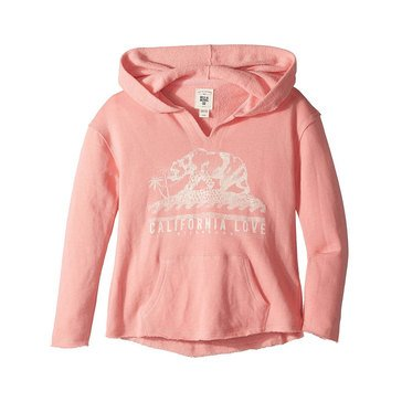 Billabong Big Girls' Long Sleeve Days Off Hoodie Flamingo