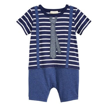 First Impressions Baby Boys' Little Man Sunsuit