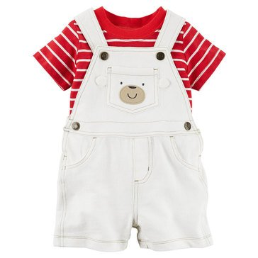 Carter's Baby Boys' 2-Piece Shortall Set