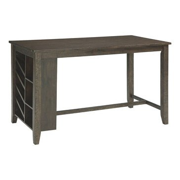 Signature Design by Ashley Rokane Counter Height Dining Room Table