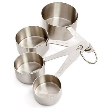 Martha Stewart Collection Stainless Steel Measuring Cups