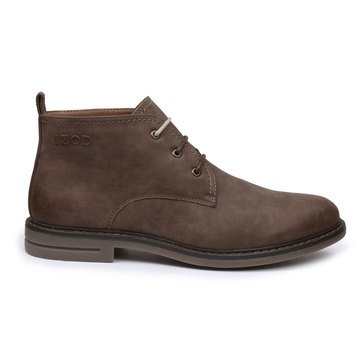 Izod Cally Men's Casual Chukka Boot- Brown Bridge