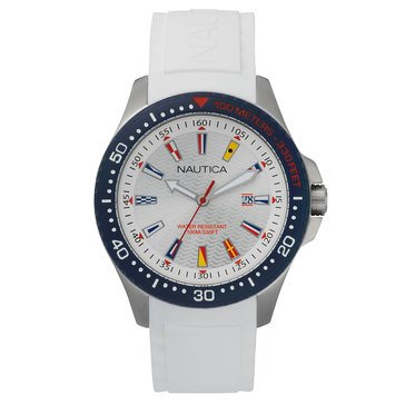 Nautica Men's Jones Beach Watch, 44mm