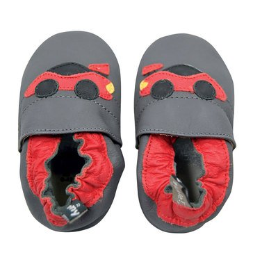 Tommy Tickle Baby Boys' Race Car Shoes, 6-12 Month