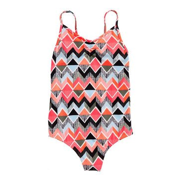 Billabong Little Girls' One Piece Zigginz Swimsuit