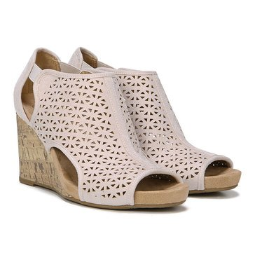 Lifestride Women's Hinx 2 Open Toe Wedge Sandal