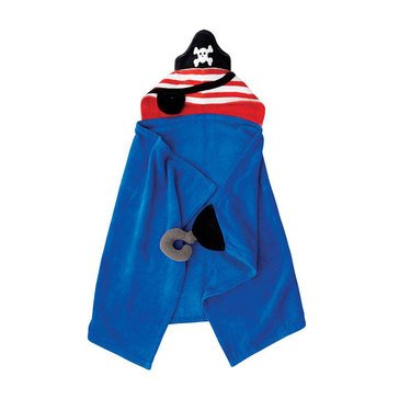Mudpie Baby Boys' Pirate Hooded Towel