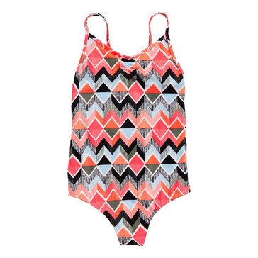 Billabong Big Girls' 1-Piece Zigginz Swimsuit