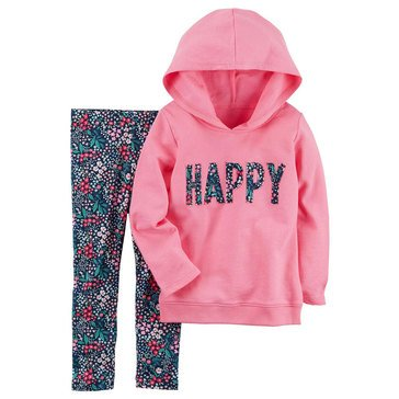 Carter's Toddler Girls' French Terry Legging Set
