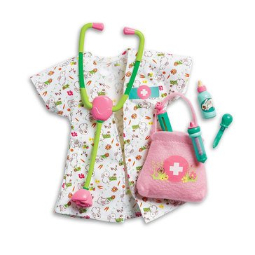 WellieWishers Woodland Animal Vet Set