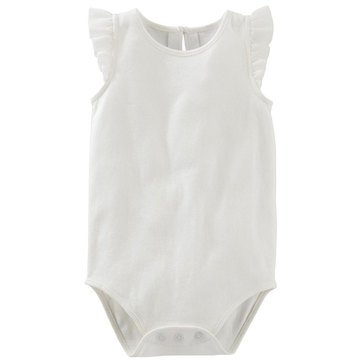 OshKosh Baby Girls' Chiffon Ruffle Bodysuit