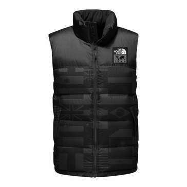 The North Face Men's IC Olympics Nuptse Flag Vest