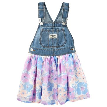 OshKosh Baby Girls' Floral Tulle Jumper