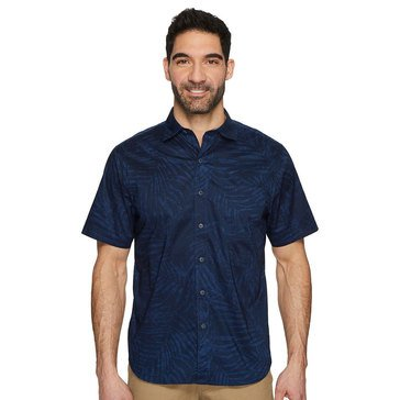 Tommy Bahama Men's Vero Fronds Woven Button Down Camp Shirt