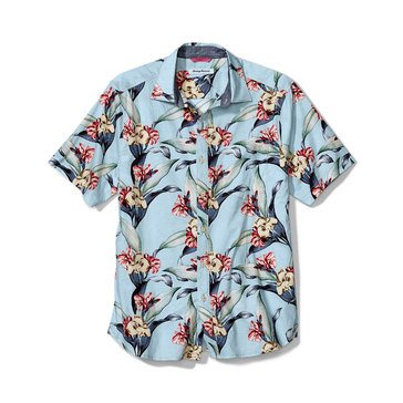 Tommy Bahama Men's Cape Floral Woven Button Down Camp Shirt